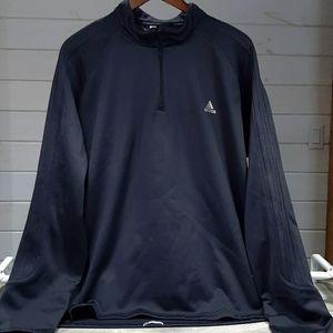 Adidas ClimaWarm Response 1/4 ZipUp Sweater Sz 2XL